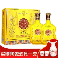53°汾酒集团口口福清香型白酒750ml*2瓶
