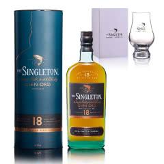 40°英国苏格登格兰欧德18年单一麦芽苏格兰威士忌700ml+凯恩杯173ml