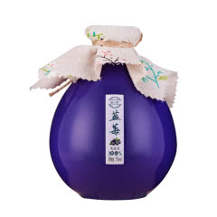 5°蓝莓 蓝莓 蓝莓果露酒低度酒500ml 单瓶装