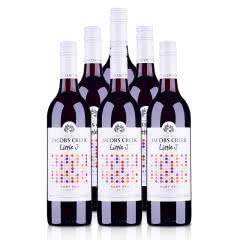 澳大利亚杰卡斯J小调系列轻盈红葡萄酒750ml*6