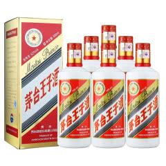 【下单立减】53°茅台王子酒酱香型白酒礼盒礼酒500ml(6瓶装)