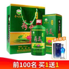 杜酱荷花酒 53度香柔酱香型白酒 500ml(单瓶装)