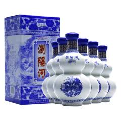 52度浏阳河酒青花瓷百里醇香475ml*6瓶装