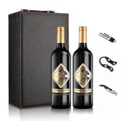 西班牙帝国香榭唐吉柯德金标干红葡萄酒整箱装皮盒装750ml*6