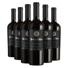 澳洲进口红酒经典老人头系列窖藏赤霞珠干红葡萄酒整箱750mlX6