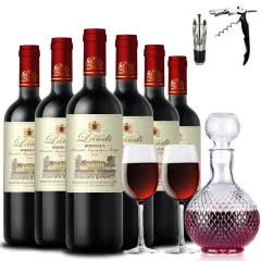 法国原瓶进口红酒 波尔多产区 罗蒂庄园 帕桐干红葡萄酒红酒整箱750ml*6