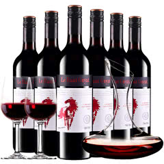 张裕澳洲原酒进口红酒拉赛庄园G50干红葡萄酒红酒整箱醒酒器装750ml*6