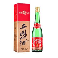 55度西凤酒 绿瓶高脖 凤香型白酒500mL