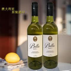 澳洲原瓶原装进口安娜贝拉BIN3霞多丽(CHARDON)干白葡萄酒750ml两瓶装