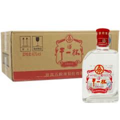 46°五粮液股份公司出品 五粮小酒浓香型小酒版 2014年产 干一杯100ml*30瓶整箱