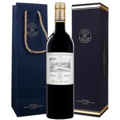 法国原瓶进口拉菲红酒 拉菲珍酿圣爱美乐干红葡萄酒单支装750ml(ASC)单支礼盒