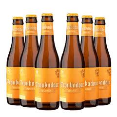 比利时进口精酿啤酒火枪手游吟诗人金啤酒330ml(6瓶装)