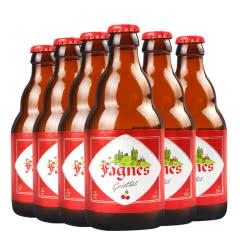 原装进口比利时精酿啤酒法尼斯樱桃味啤酒330ml(6瓶装)