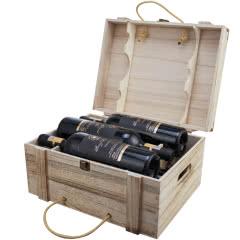 法国进口红酒雷格尼斯干红葡萄酒750mL(6瓶木盒装)