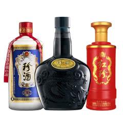 珍酒礼包B(内含:老珍酒一瓶+珍五一瓶+红珍一瓶)