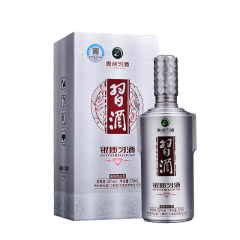53度贵州习酒 酱香型 白酒 银质(钻石版) 579ml单瓶装