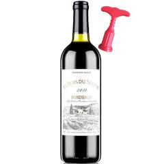 法国红酒(原瓶原装)进口红酒波尔多法定产区橡木桶干红葡萄酒750ml单瓶装