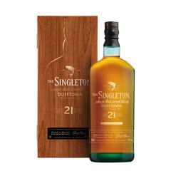 43°苏格登21年(步步高登)单一麦芽威士忌新春礼盒700ml