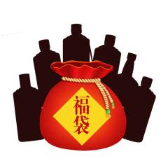 53度 贵州珍酒惊喜福袋 酱香型白酒 六瓶装 6瓶随机珍酒