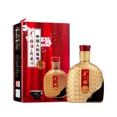 52°金六福府藏18 500ml 浓香型白酒 礼盒套装 纯粮食酒