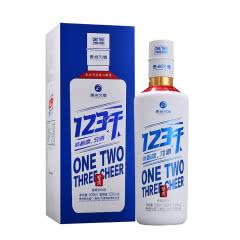 53度 贵州习酒 123干 酱香型白酒 500ml单瓶装