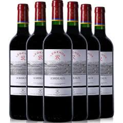 法国进口红酒 拉菲(LAFITE)拉菲传奇波尔多红葡萄酒750ml*6整箱装