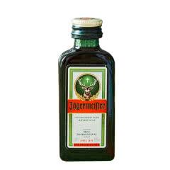 野格(Jagermeister)洋酒 德国进口 野格酒小酒版 野格利口酒20ml