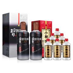 52°小糊涂神250ml(6瓶装)+52°习牌特曲丙申年纪念版 500ml(2瓶装)