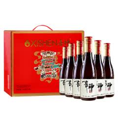 6°喜神纯酿米酒365ml(6瓶装)