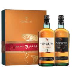 40°苏格登2020年新春礼盒(12年+18年)单一麦芽威士忌700ml
