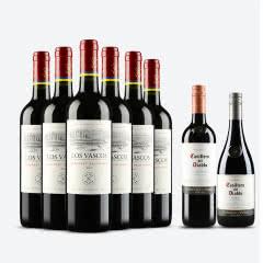 智利原瓶进口红酒 拉菲巴斯克干红葡萄酒 整箱六支装 750ml*6