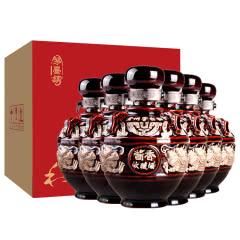53°贵州酱香型白酒整箱粮食原浆酒坛装酒送礼收藏酒500ml*6瓶