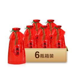 54度凤凰情湘酒(红)兼香型白酒500ml*6瓶装