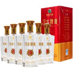 【老酒】52°贵州茅台酒厂(集团)习酒·习水特曲浓香型白酒500ml*6(2014年)