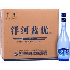 42° 洋河白酒 洋河蓝优 口感绵柔浓香型白酒 480ml*12 整箱装