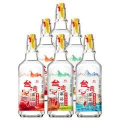 52°宝岛阿里山台湾高粱酒(高山酒)浓香风味白酒500ml*6瓶