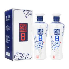 52°全兴大曲青花8浓香型白酒整箱装500ml(2瓶装)2014-2015年 随机发