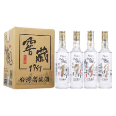 【2018年份老酒特卖】43°八八坑道台湾高粱酒窖藏1999纯粮清香型白酒500mL*4