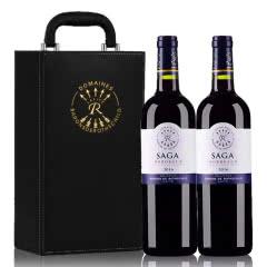 法国进口红酒 礼盒装 拉菲传说波尔多干红葡萄酒 750ml (2瓶装)