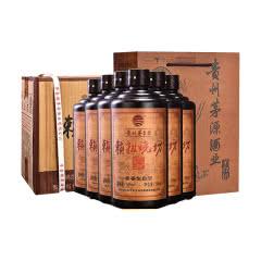 53°贵州赖祖烧坊纯粮食酱香型高度白酒500ml整箱六瓶