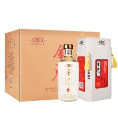 53°贵州金沙酒五星陈酱 礼盒酒 酱香型白酒整箱500ml (6瓶装)