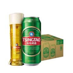 青岛啤酒经典(1903)10度500ml*18罐啤
