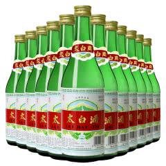 50度太白酒  普太绿瓶 陕西 凤香型 纯粮高度白酒 口粮酒 整箱500ml*12瓶