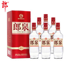 【新品上架】52°郎酒郎泉故水450ml*6瓶整箱高度白酒送礼自饮