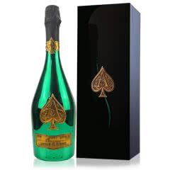 黑桃A香槟 法国原瓶进口香槟酒 黑桃A绿金香槟 钢琴烤漆礼盒 750ml