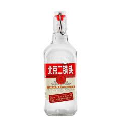 北京永丰二锅头出口型小方瓶(红)42度500ml  清香型白酒  1瓶
