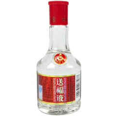 52°五粮液公司出品 浓香型小酒 小瓶装白酒 (2015年产)送福液100ml*1瓶