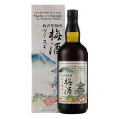 松井(Matsui Umeshu)梅酒 日本进口洋酒 松井威士忌梅酒 700ml