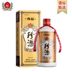 53°珍酒珍品 易地茅台酒 贵州珍酒 酱香型白酒 固态纯粮酒500ml单瓶
