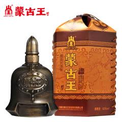 蒙古王52度金帐单瓶500ml高度浓香粮食酿内蒙古草原特产白酒